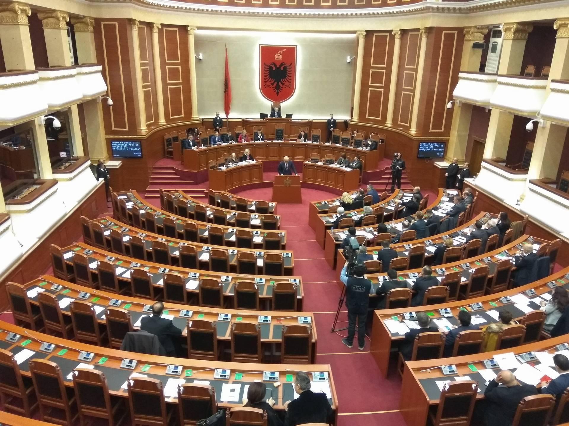 Osservatorio italiano albania parlamento vota con 82 for Notizie parlamento italiano
